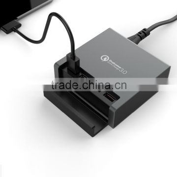 promotional usb qc 3.0 charger, qc 3.0 qualcomm charger cell phone quick charger ,new innovative daily use products