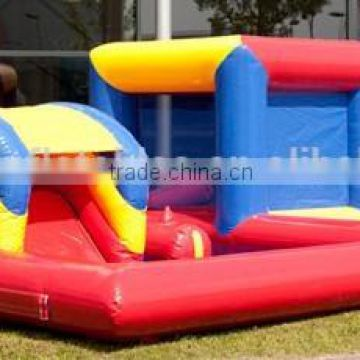 Mini inflatable kids playzone inflatable balls pool with slide