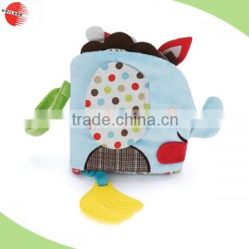 infant toys plush toy OEM design kids baby fabric cloth books for children