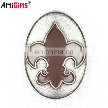 Wholesale custom logo metal brand label