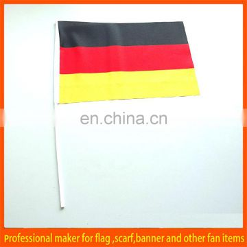 Germany custom design high quality hand flags