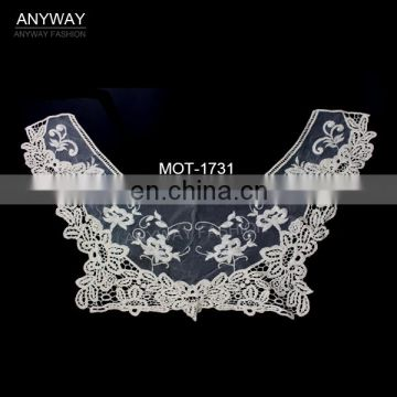 Fancy lace collar;decorative lace collar;modern lace collar