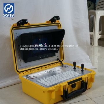 High Resolution Display Borehole Inspection Camera for Testing Underground Well