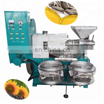 High Technology screw press oil oil seed screw press machine output oil press machine