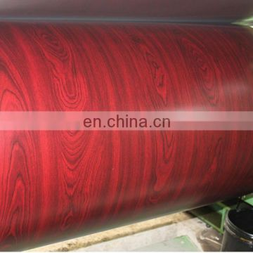 wooden  series 5mm thick galvanized steel sheet metal pre painted zinc coated steel sheet