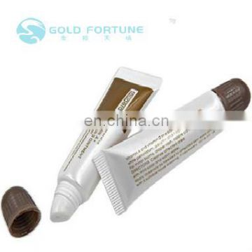 Gold Fortune plastic button screw cap tube