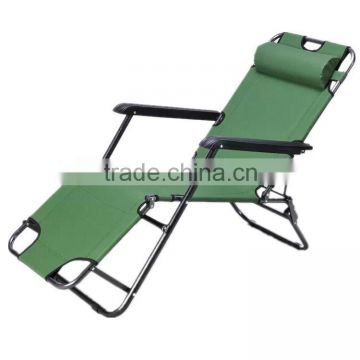 Luxury portable leisure foldable outdoor metal daybed