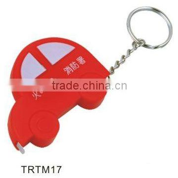 Wholesale car shape key chain tape measure