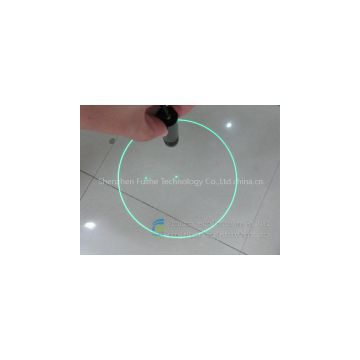 FU520YQD50-GD16 DOE green Concentric rings rings circle rounded circular circularity pattern laser