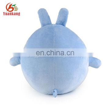ICTI approved custom soft toy baby hugging rabbit plush animal toys for decoration