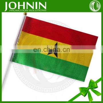 OEM high quality promotional custom hand waving flags