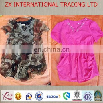 2017 fashion used grade quality clothing lady blouse secondhand clothes used clothes