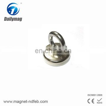 High Pull Force Neodymium Fishing Magnet with Eyebolt