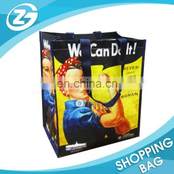 China Factory Custom Eco-friendly Recycle PP Woven Valve Type Waterproof Promotion Bag