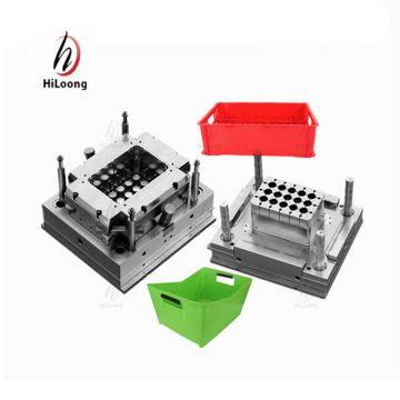 taizhou mould manufacturing plastic bottle turnover box mould