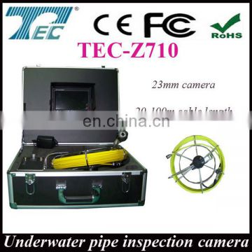 Best price for pipe detect camera TEC-Z710, underwater pipe camera