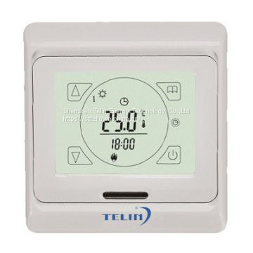 Weekly Programmable LCD Touch Screen  Electric Floor Heating Thermostats