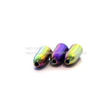 Tungsten worm weight in Rainbow
