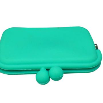 Silicone Rubber Purse Fashion Coin Case Hot Selling Colorful