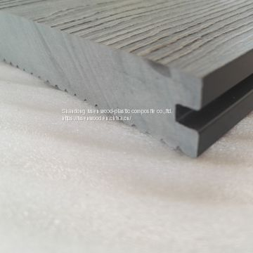 anti crack traditional wpc hollow decking