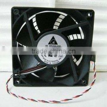 Promotion of delta AFB1212SHE automatic temperature control speed double ball quiet air fan