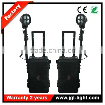 High power led extendable battery operated Military searchlight RLS51-80W