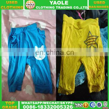 china alibaba children summer used clothing export