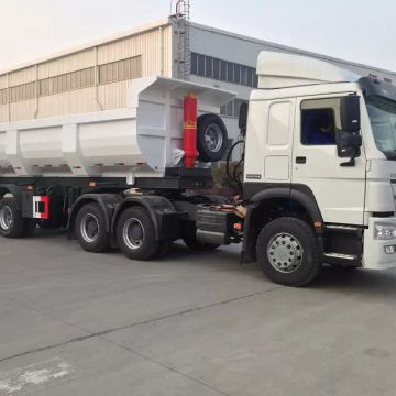 3 axle 60 tons tipper trailer for sale