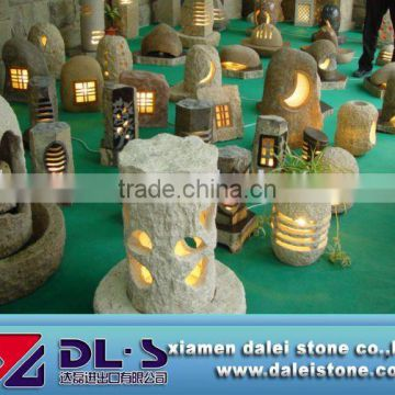 natural stone lamp, garden lamp,out door light factory price