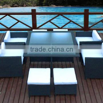 Home & Garden General PE rattan furniture rattan table and chairs