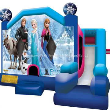 frozen princess inflatable bouncer