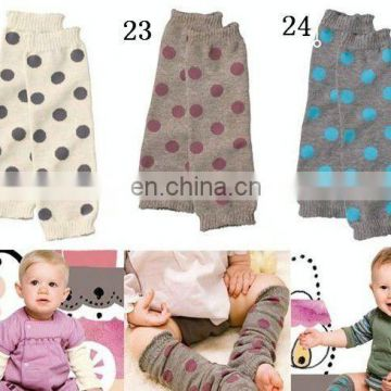 in stock! baby boy dotted dot Leg Wamrer warmers fashion kids leg warmer legging leggings
