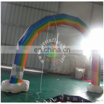 Rainbow Attactive Inflatable Arch For Outdoor Advertising
