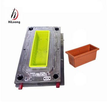 plastic injection moulding bonsai pot mould manufacturing
