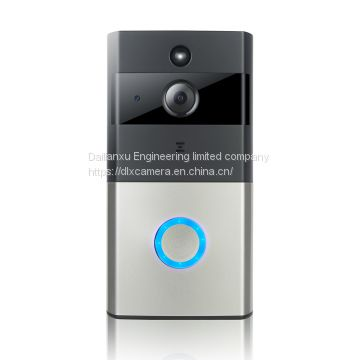 hotsale Megapixel 720P WIFI Smart Doorbell support 32G SD remote watch two ways voice remote watch by APP of Smart mobil