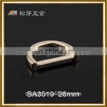Accept Customized Order Nickel Free D Ring Buckle, High End Quality D Ring Buckle Supplier