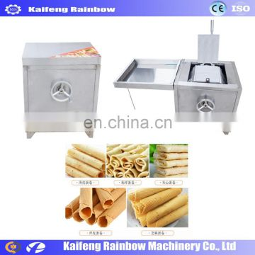 Factory Directly Supply Lowest Price wafer stick egg roll production line / chocolate wafer stick making machine/ wafer line