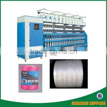 Textile Yarn Twisting Machine Two Rope Line And Ring Twister