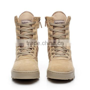 2016 men Military Tactical Combat Outdoor army high ankle boots cheap military boots
