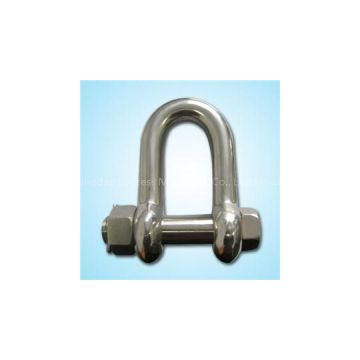 Stainless Large Dee Shackle