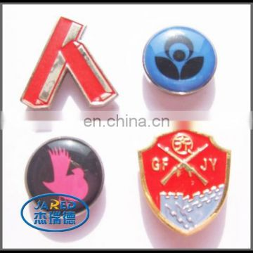 cheap custom enamel and epoxy pin badge wholesale