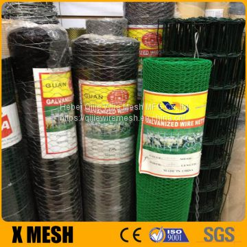 Poultry Fence Metal Hexagonal Iron Wire Mesh
