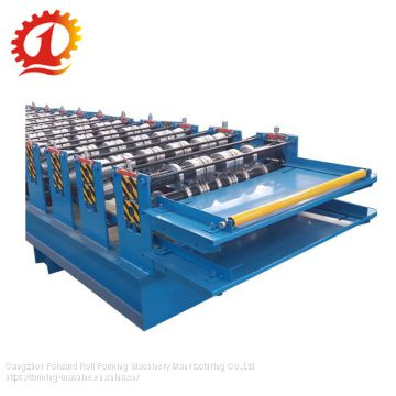 High Quality Double Layer Color Sheet Roof panel Roll Forming Machine (YX1000-1120)