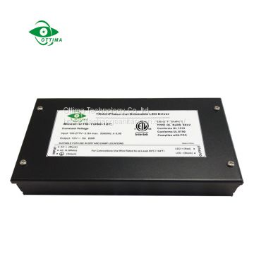 60W junction box triac dimmable LED driver 12v/24v  Junction box LED driver price   LED driver