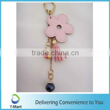 Pink Flower Pendant design for bags, clothings, belts and all decoration