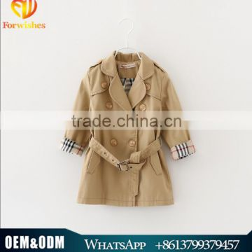 Children Baby Girl Spring Autumn Coat Kids Clothes Wholesale Age 3-10