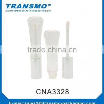 Plastic tube for empty lip gloss tubes, plastic container tube, Fancy unique cosmetic tube plastic tube