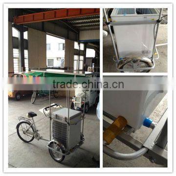 Manufacture design solar ice cream freezer cart portable rechargeable  battery Solar Ice Cream Bike 12v Fridge Freezer , Quality Choice