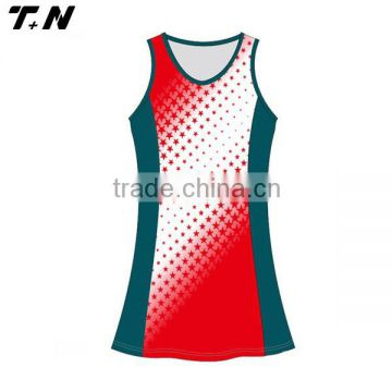 High quality sublimation custom cheap netball dress                                                                         Quality Choice