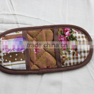 alibaba china cheap custom printed cotton funny magnetic pot holder